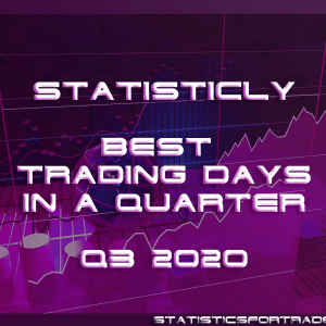 statisticly best trading days in a quarter for Q3 2020