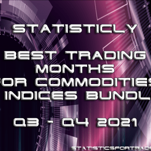 Statisticly best trading months for commodities & indices bundle (Q3 - Q4 2021)