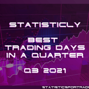 statisticly best trading days in a quarter for Q3 2021